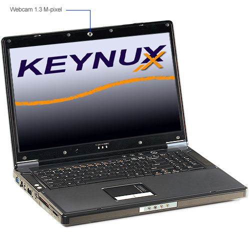keynux ordinateur portable puissant pour le jeu et la 3d avec linux xp vista ou sans os. Black Bedroom Furniture Sets. Home Design Ideas